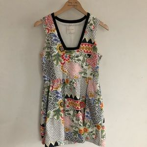 Line & Dot embroidered dress size M